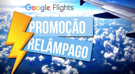 Google Flights: Passagens aéreas relâmpago