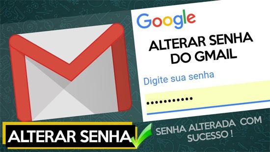 Gmail fazer login: Mudar senha